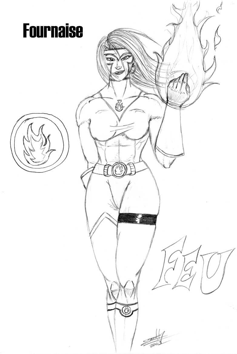 Iskor website dessins divers - Dessin de super heros fille ...